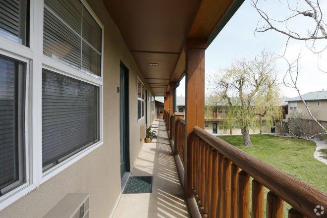 College apartments in Boulder, Colorado